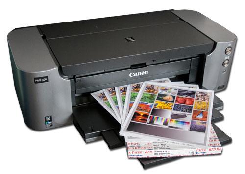 Canon Pixma Pro 100 Wireless Printer Review Red River Paper