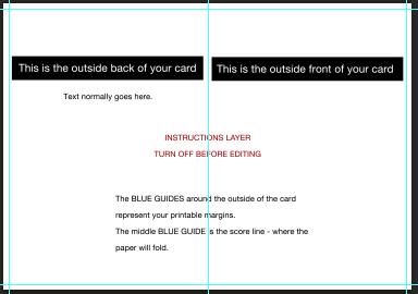 Greeting Card Setup Photoshop Windows Vertical