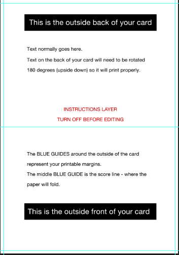 photoshop cs6 greeting card setup tutorial