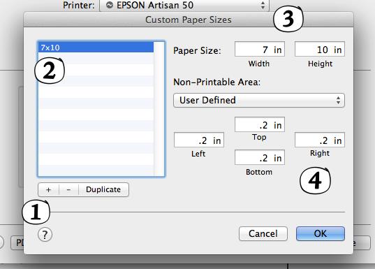 custom paper size cutepdf for mac