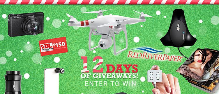 Win a Quadcopter in the 12 Days Giveaway