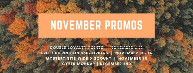 November Promos