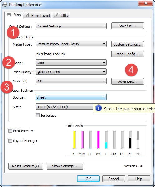 How to use ICC Color Printer Profiles with GIMP / Windows