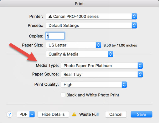 How to use ICC Color Printer Profiles with Photoshop CS6 CC