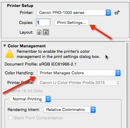 Next Click Print Settings Or The Equivalent To Get Into Dialog